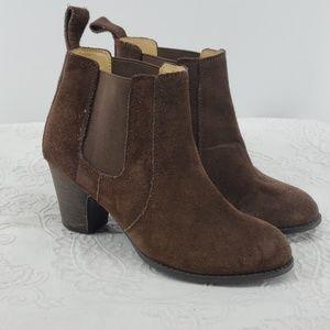 Nine West Vintage America Suede Ankle Boots
